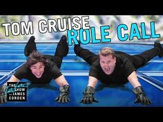 [Video] Tom Cruise & James Corden recreate scenes from Cruise's films. THE LATE LATE SHOW. October 19, 2016. (9:16)