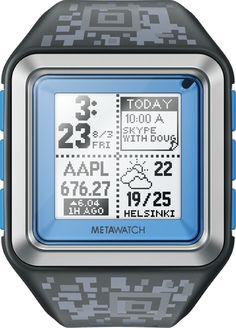 MetaWatch Smartwatch Products
