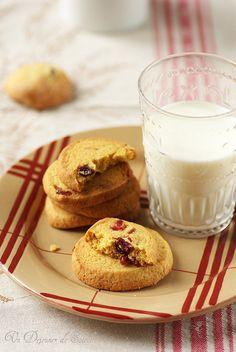 Cookies au maïs et cranberries (sans laitages)