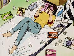90's Aesthetic Anime