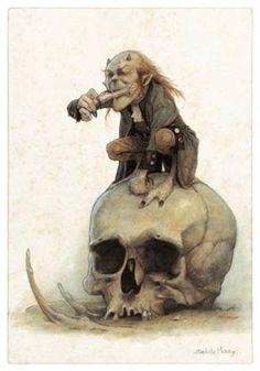 bones eater, Jean-Baptiste Monge on ArtStation at https://www.artstation.com/artwork/xb1g2