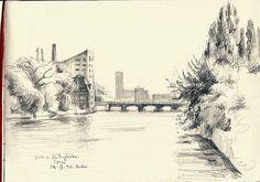 Schilling Brücke by catilustre, via Flickr