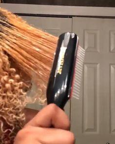 🍭✨~ ✨🍭 - ➵ p i n :𝓥𝓪𝓷𝓲𝓵𝓵𝓮🌺 - Pelo Natural, Natural Hair Tips, Natural Hair Styles, Natural Curls, Curly Hair Care, Curly Hair Styles, Hair Laid, Natural Hair Inspiration, Tips Belleza