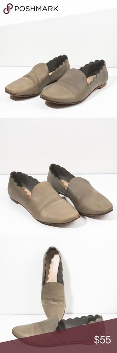 Loeffler Randall Taupe color Flat loafers They are used with normal signs of wear. in good condition. signs of creasing on the front, wear on the heels, scratches around the toe area.   Size: 8 B Loeffler Randall Shoes Flats & Loafers