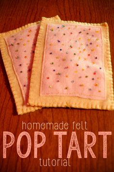 Fantastic Pics Felt Food: Pop Tarts DIY Play Food Tutorial- MamaPlusOne Thoughts The most effective immediately vacation retreat in the Pacific Northwest is The Lights of Christmas Kids Play Food, Play Kitchen Food, Felt Play Food, Pretend Food, Play Kitchens, Children Play, Diy Kitchen, Diy Crafts For Boyfriend, Diy Gifts For Kids