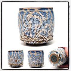"""Drip drop drip... Filling the ocean sloooowly. #matcha #chawan #zygote #stocktonca #chawan #yunomi #teacult #teaware #ceramics #californiaclay #californiaceramics…"""