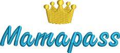 Freebie: Mamapass - für den 10x10cm Rahmen