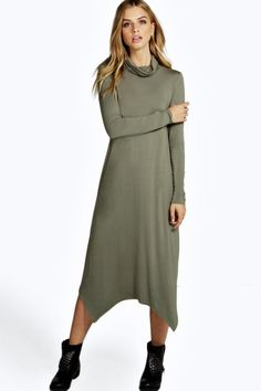 Need a new dress? boohoo's collection of on-trend dresses covers all your plans, from going out styles to day dresses and must-have knit styles. Dress For You, New Dress, Jumper Dress, Roll Neck, Shirt Style, Going Out, Cold Shoulder Dress, March, Shirts