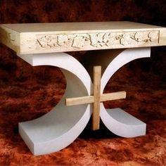 Wood Altar For A Private Chapel, Portland, Oregon