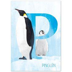 Ansichtkaart Pinguin van Revista (voorkant)