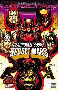 Browse the Marvel Comics issue Deadpool's Secret Secret Wars Learn where to read it, and check out the comic's cover art, variants, writers, & more! Hq Marvel, Marvel Heroes, Marvel Comics, Dead Pool, Crossover, Comic Book Covers, Comic Books, Comic Art, Secret Wars