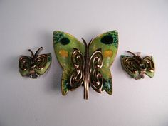 Matisse Copper Set Enamel Set Classic Vintage by dianadivine, $79.00