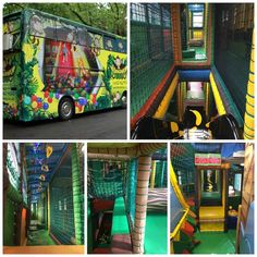 Business Inspiration, Business Ideas, Kids Party Bus, Mobile Beauty Salon, Indoor Play Places, Mobiles For Kids, Luxury Motorhomes, Bus House, Mobile Business