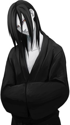 30 DAY NARUTO CHALLENGE FAVORITE MALE CHARACTER: Orochimaru is pretty cool but sometimes creepy. Cmon, you gotta love at least ONE of the villians.