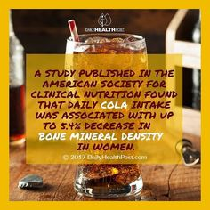 I worked at a fast food restaurant when I was in high school and I've drank a lot of cola in my life. Many people still do. The amount of people I know who still have to have their diet soda is astounding in light of everything we now know about it. If you still soda please consider giving it up completely. There is nothing in it that promotes health and life. #healthyisthenewblack