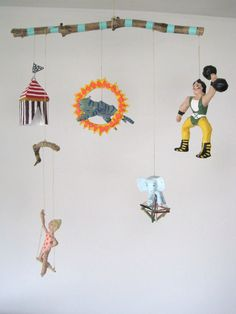 Mobile Circus by jikits on Etsy
