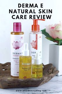 Derma E Skincare Natural Radiant Collection Review These Natural Skincare Products Will Help Organic Skin Care Diy Natural Skin Care Natural Skincare Brands