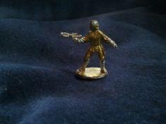 Luke Skywalker Vintage Lead Figurine, 1-inch, 1987.
