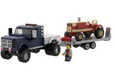 Lego Technic Truck, Lego Truck, Lego Police, Police Gear, Big Ford Trucks, Pickup Trucks, Custom Lego, Custom Trucks, Lego City Train