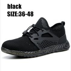 518dcff5aa4 33.46 |Zapatos de seguridad de trabajo Indestructible para hombres y mujeres  botas de seguridad de aire de punta de acero a prueba de perforaciones ...