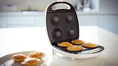 CHOICE reviews the $29 Anko Kmart pie maker, and compares it with cooking pies in your oven. Which produces the best result, and which has the best time? Sunbeam Pie Maker, Beef And Mushroom Pie, Slow Cooker Reviews, Custard Tart, Sausage Rolls, After School Snacks, Recipe Sites, Oven Baked, Mini Cakes