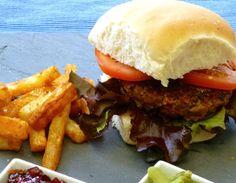 Mozzarella Melt Beef Burger