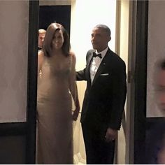 #44thPresident Barack Obama and First Lady Michelle Obama going to their (8th) eighth and last last correspondence dinner at the White House on May 1, 2016
