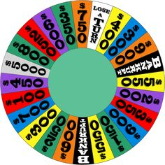 76 Best Wheel of fortune crafts images in 2018 | Wheel of