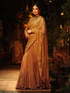 The Famous Indian Fashion Designer Sabyasachi mukherji is specialized in mixing the ethnic and the modern. Check Sabyasachi Sarees and Bridal collection! Pakistani Dresses, Indian Sarees, Indian Dresses, Indian Outfits, Indian Clothes, Sabyasachi Sarees, Anarkali, Lengha Choli, Indian Attire