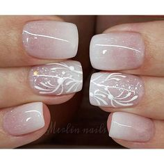 Instagram media merlin_nails - Close-up BABY BOOMER Gel on natural nails…