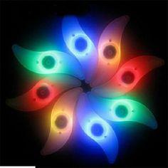 Divertido Seguro Brillante Neumático Del Neumático de la Bicicleta de La Bici del Coche de Válvula de la Rueda Led Habló La Lámpara de Luz de Iluminación Noche Luminosa