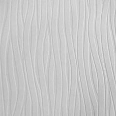 Graham & Brown 56 sq. ft. Wavy Lines Paintable White Wallpaper-18622 at The Home Depot
