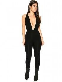 52757b087bb Naked Wardrobe Tied Into U Jumpsuit - Jumpsuits - Womens Hourglass Figure