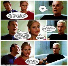 """Buffy Funnies"": Something Blue - buffy-the-vampire-slayer Fan Art"