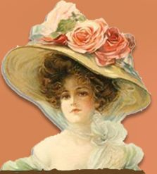 love the victorian hat