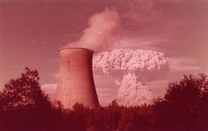 Mt St Helens eruption 1982 with Trojan Nuclear Plant Rainier Oregon Green Life, Go Green, Saint Helens, State Of Oregon, Energy Resources, Oregon Travel, Tumblr, Pacific Northwest, Climate Change