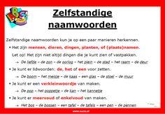 Zelfstandige naamwoorden | www.nazia.nl – De klas enzo…