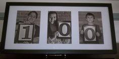 for a birthday party.each great-grandchild held a framed number. Elsa Birthday, 90th Birthday Parties, 75th Birthday, Birthday Gifts, Birthday Celebration, Birthday Ideas, 100 Years Celebration, Grandpa Birthday, Milestone Birthdays