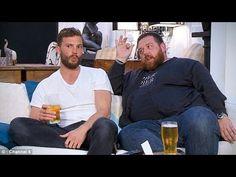 Fifty Shades of Grey's Jamie Dornan enjoy a cosy night in celebrity Gogg...