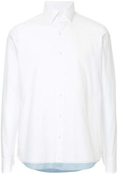 double oversized cotton long sleeve shirt Delada Sale Collections Buy Cheap Low Shipping Fee Discount Limited Edition Clearance Choice Clearance Factory Outlet x48LxbC