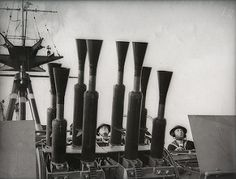 Vickers 40mm Pom-pom anti-aircraft guns on HMS Rodney - naval image #9 | by whatsthatpicture
