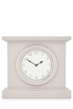 Buy Neutral Wooden Mantel Clock from the Next UK online shop