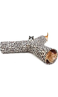 PAWZ Road Leopard Print Cat Tunnel Crinkly Sounds 3 Ways Fun Tunnel Collapsible Best Price