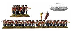 AW 200 American War of Independence British Infantry 1775-1783, Perry Miniatures