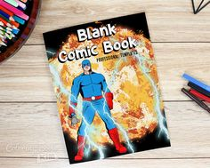 An blank comic with professional panels to create great stories for children, adults, amateurs and professionals. 120 pages of templates designed to meet the highest requirements of both amateur and professional artists.