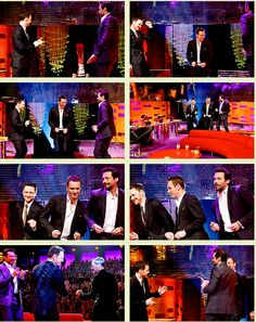 [GIFSET] Fassy and friends, dancing <3