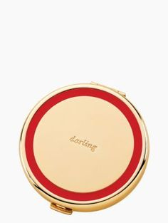 "holly drive compact, ""darling"" - kate spade new york 