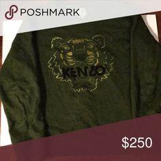 Men's Kenzo Sweater Green Men's Kenzo Sweater kenzo Sweaters