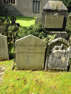 Today I visited William Wordsworth's grave. Grassmere, the Lake District.