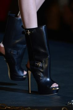 Dsquared² Peep Toe Boots - Spring 2013